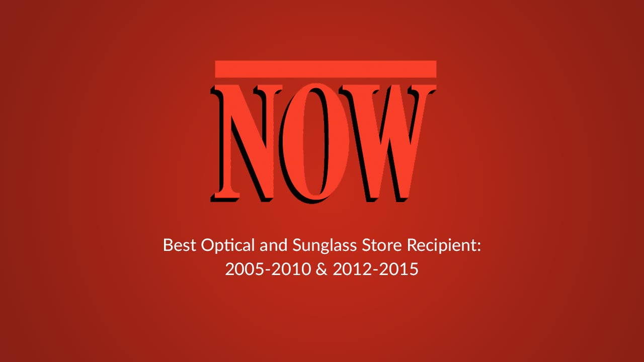 Now Magazine - Best Optical and Sunglass Store Recipient