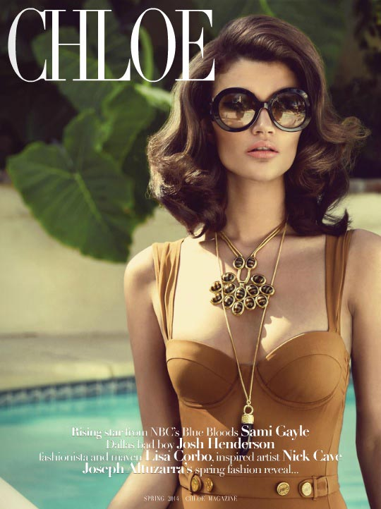 Chloe April 2014 - Cover