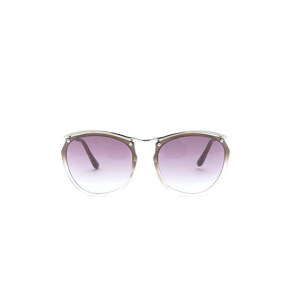 Linda Farrow x Dries Van Noten 37 in Silver Grey Gradient