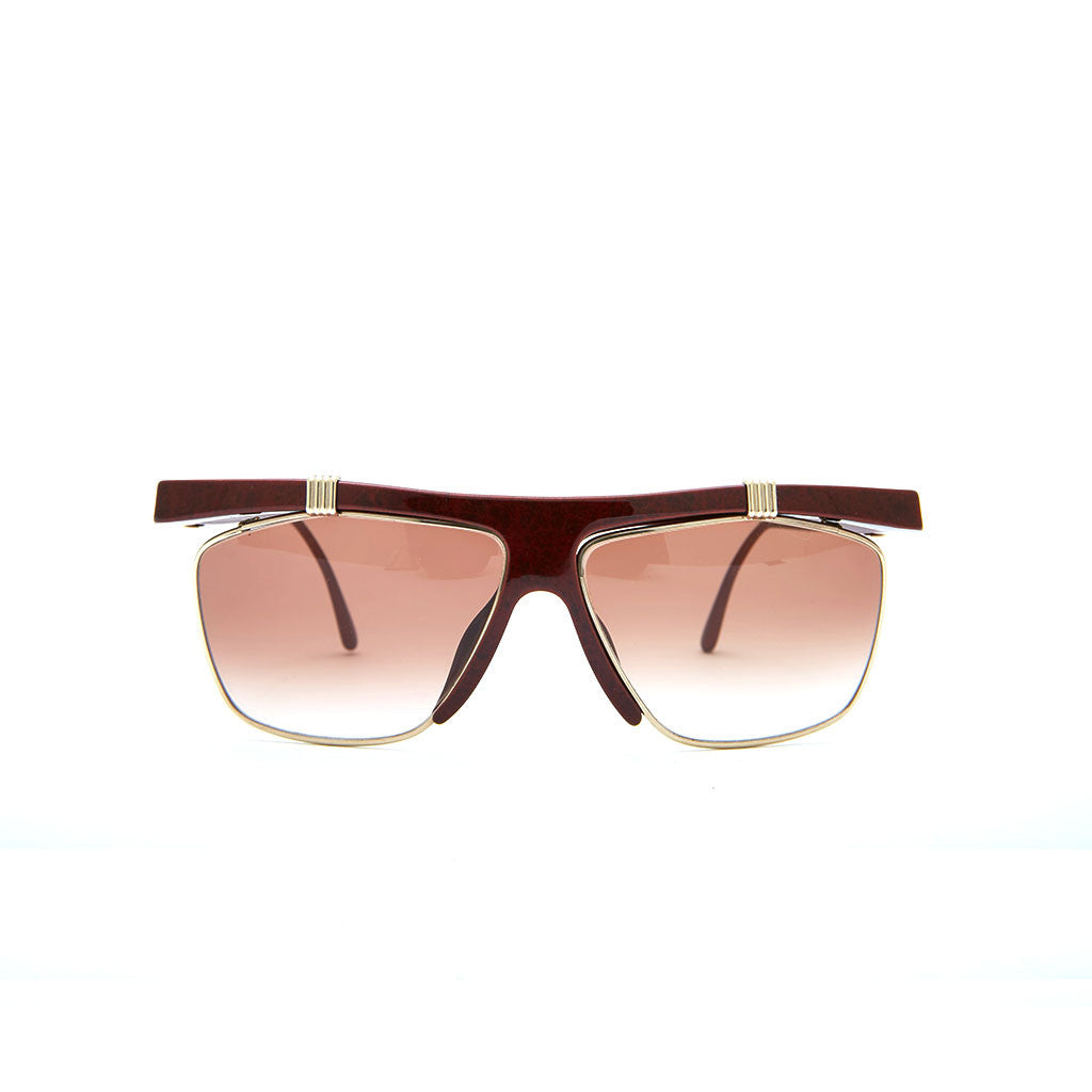Vintage Christian Dior 2555 in Red Gold