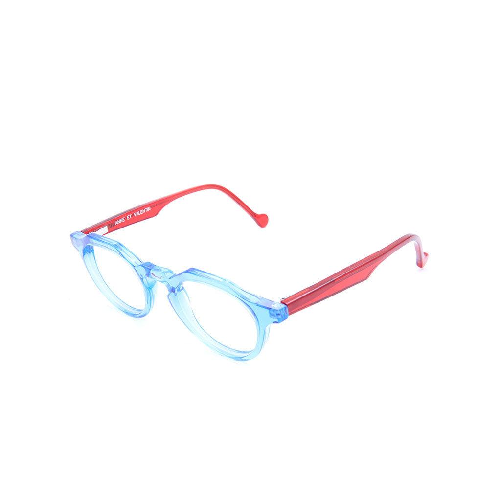 Anne et Valentin Mario in Blue-Red Crystal