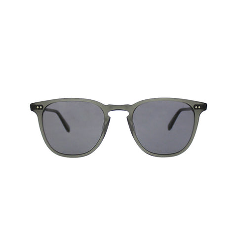 Brooks Matte Grey with Grey Polarized lenses