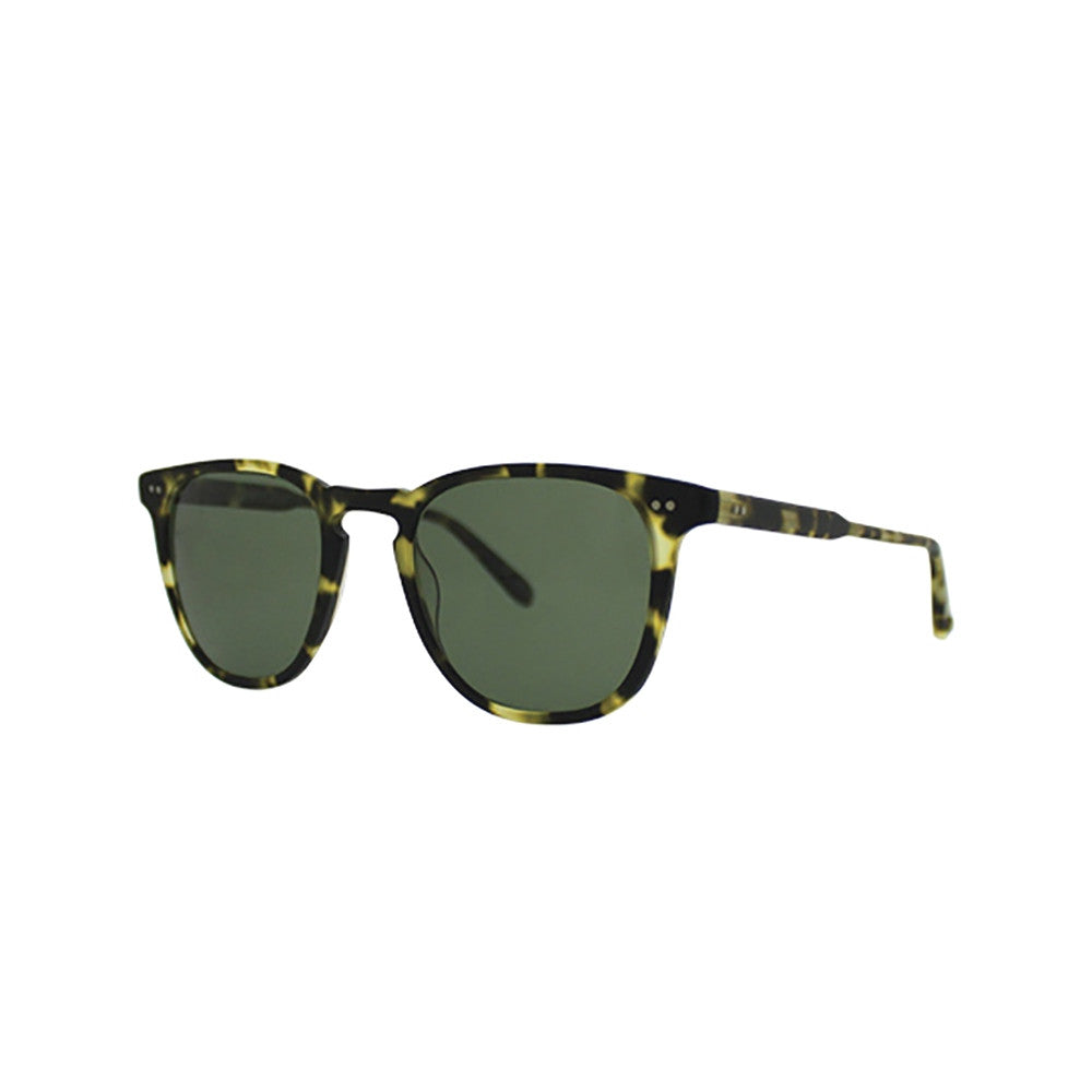 Brooks Matte Tokyo Spotted Tortoise with G15 Polarized Glass lenses