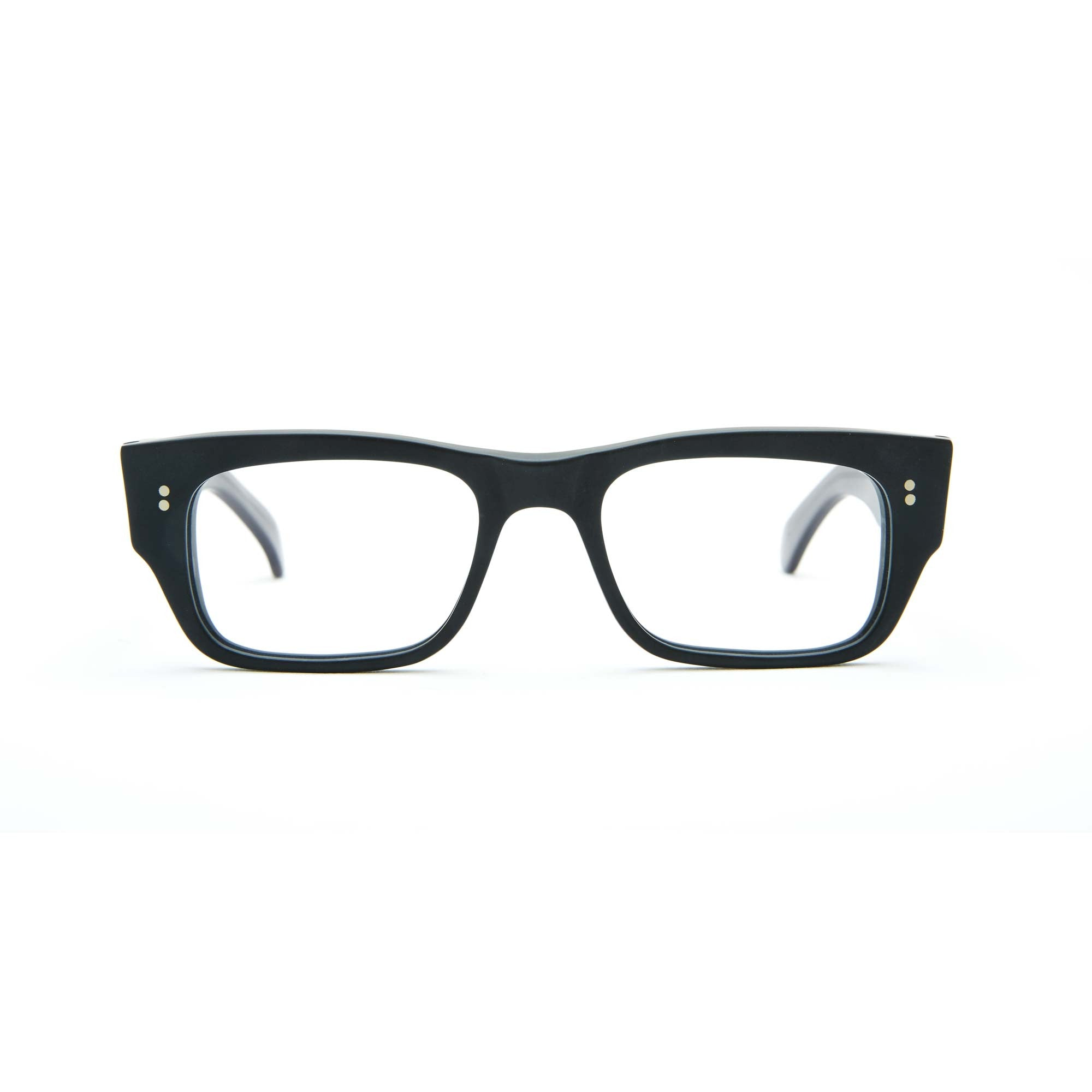 Garrison Rd. Matte Black with Grey Temples