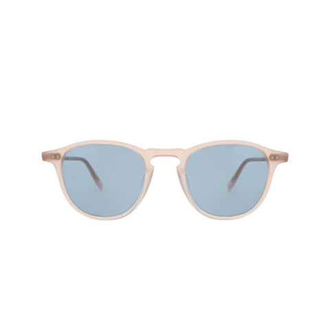 Hampton in Pink Blush with Pure Blue Glass Lenses