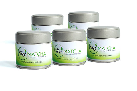 Five Pack Hey Matcha Premium