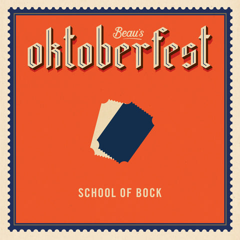 School of Bock 2019- Pairing Seasonal Beer and Food with Chef Bruce - Sat Sept 21 5:00 pm