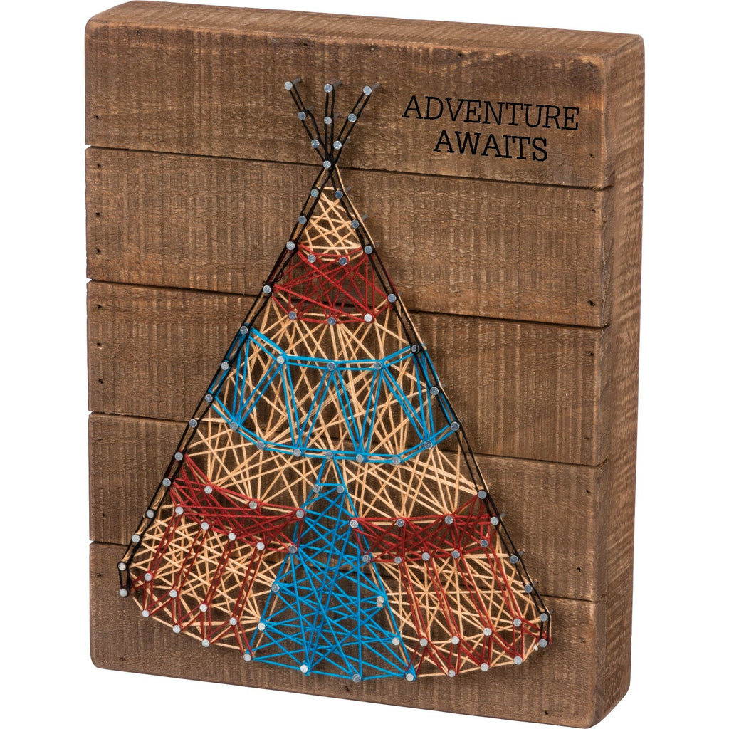 String Art - Teepee