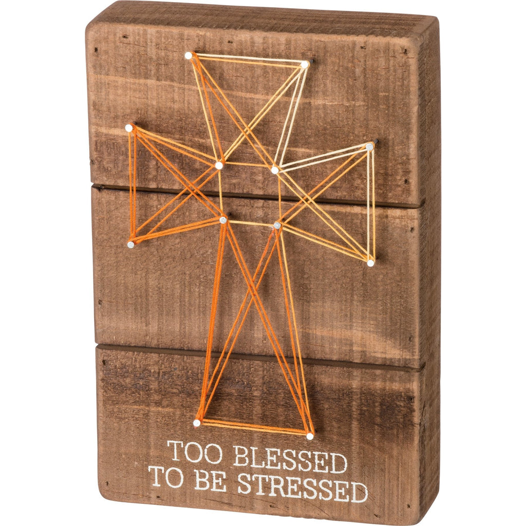 STRING ART - BLESSED