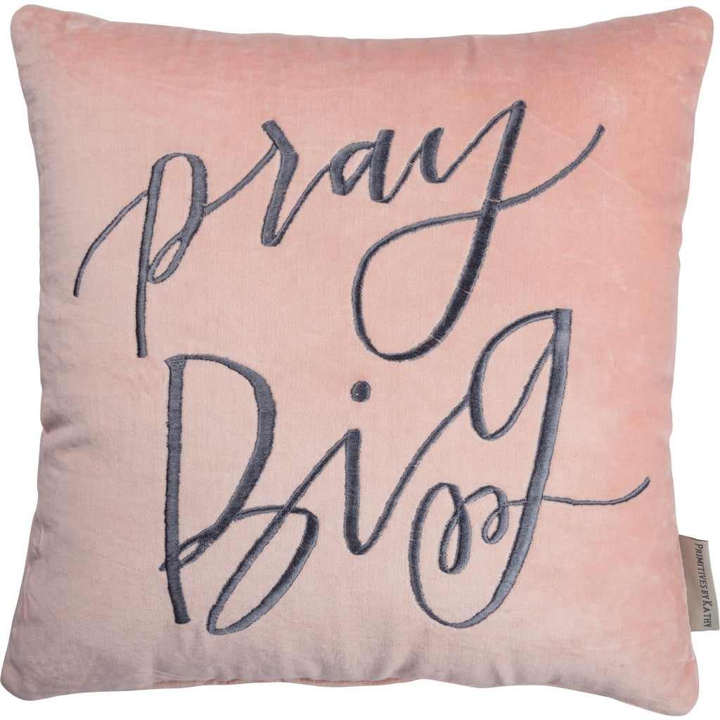 PILLOW VELVET PRAY