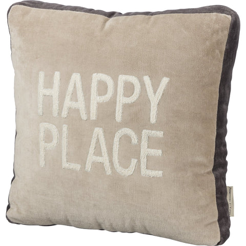PILLOW HAPPY PLACE