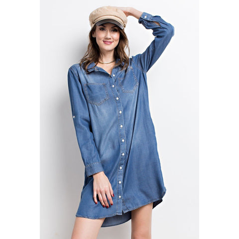 DK DENIM DRESS