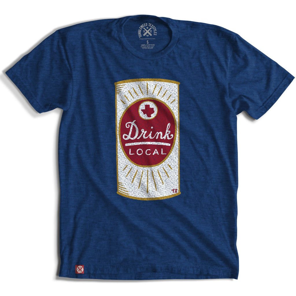 TEE DRINK LOCAL TEXAS