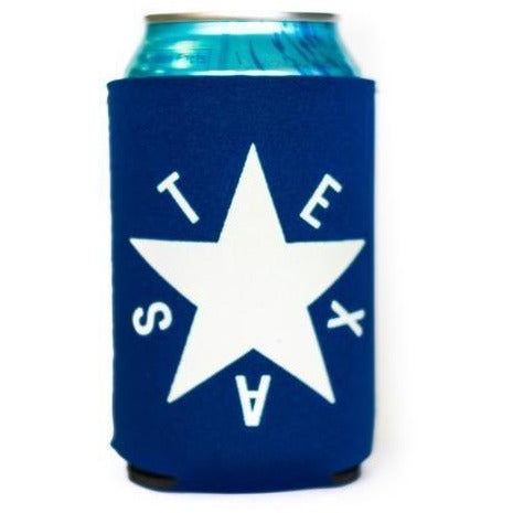 DEZAVALA STAR FLAG KOOZIE NAVY