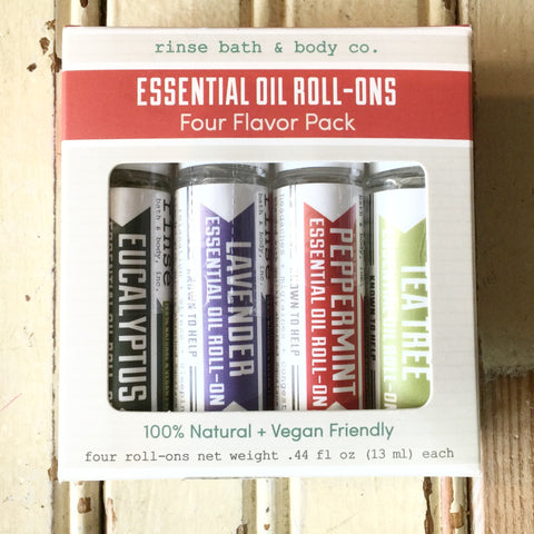 Essential Oil - 4 pack