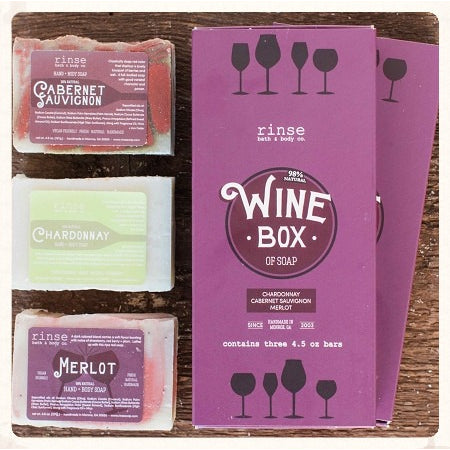Box of Wine Soap