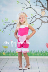 Princess Shorts Set Aurora Sleeping Beauty Inspired Disney Princess
