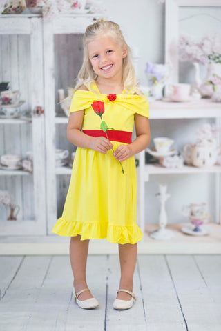 Princess Dress - Belle Inspired Beauty Dress