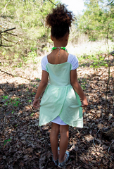 Princess Dress - Tiana Inspired Princess & The Frog