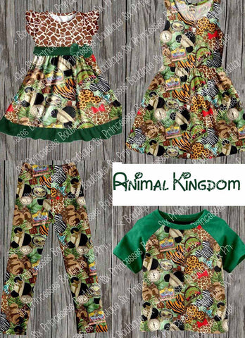 Animal Kingdom Adult Dress & Child Raglan - Only a few left BSK13