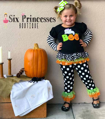 Halloween Boo Ghost Tulle 2pc Set