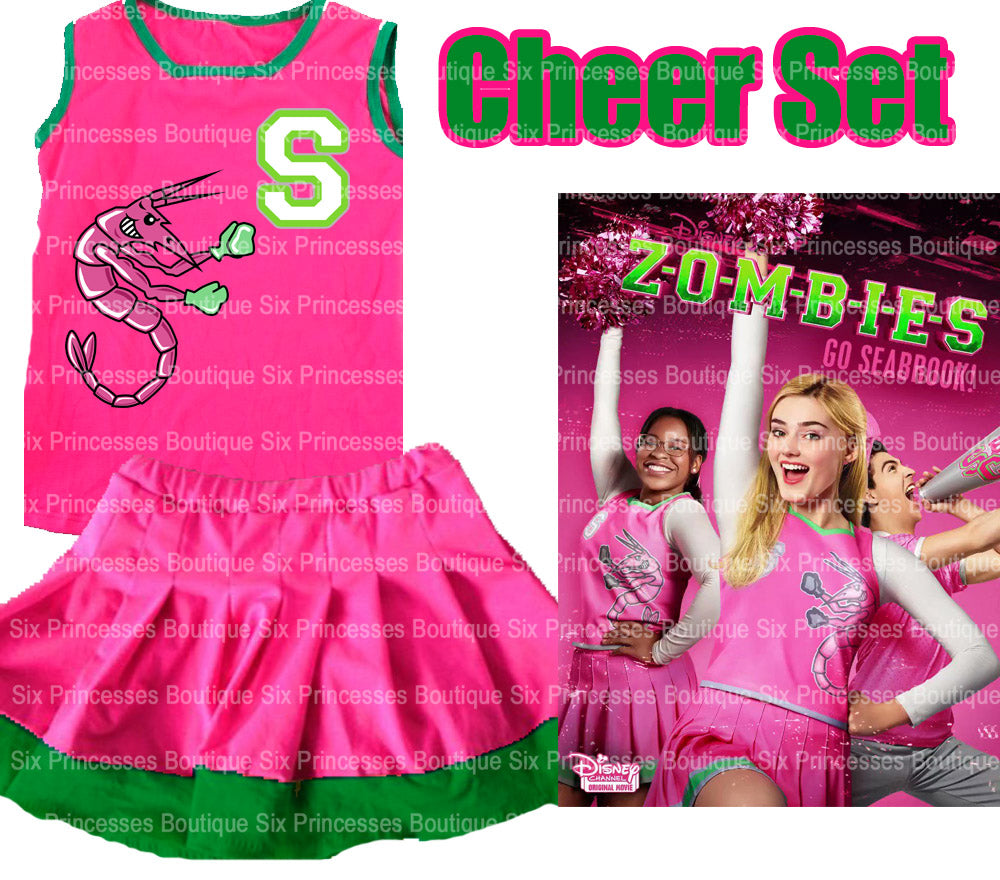 Disney Zombies Inspired Cheer Set