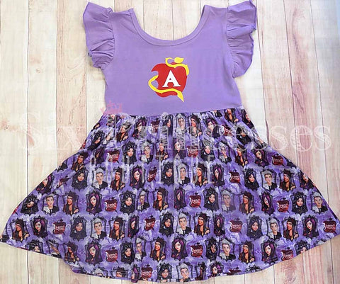 Descendants Twirl Dress Disney Personalizable