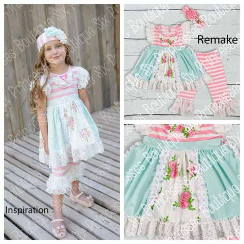 Gorgeous Serendipity Remake Lace Trim Set Only ONE 2T/3T BSK16
