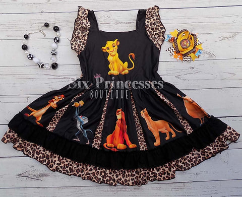 Lion King Classic Panel Twirl Dress Animal Kingdom Disney