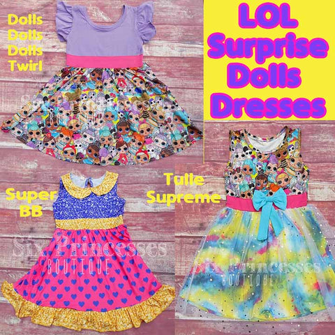 LOL Surprise Dolls Dresses Super BB Twirl Tulle Party Dress