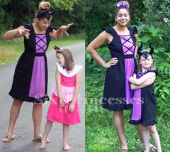 Princess Mommy Dress - Adult Size MaLeficent Sleeping Beauty Inspired Disney Costume