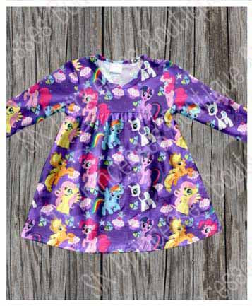 My Little Pony Tunic Dress - 7 8 Only – Six Princesses Boutique 6f40c8811