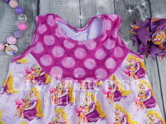 Princess Shorts Sets Ariel, Merida & Rapunzel