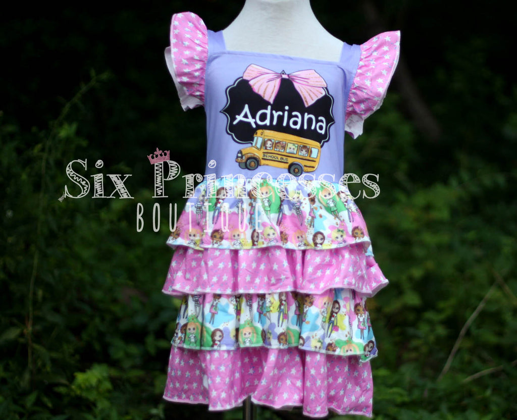 School Princess Back to School Personalized Dress