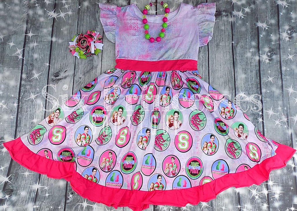 Disney Zombies Inspired Twirl Dress