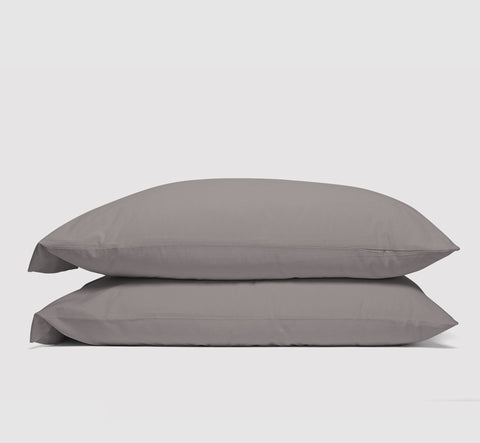 pillowcases | storm grey | bedface