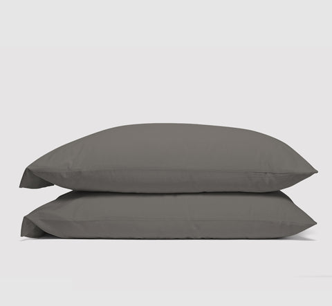 pillowcases | moonrock grey | bedface