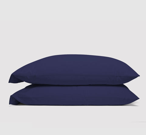 pillowcases | nighttime navy | bedface