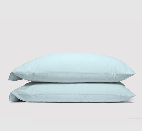 epillowcases | ice blue | bedface