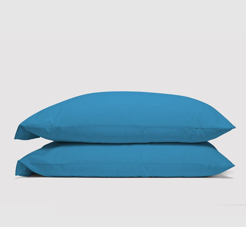 pillowcases | coastal blue | bedface