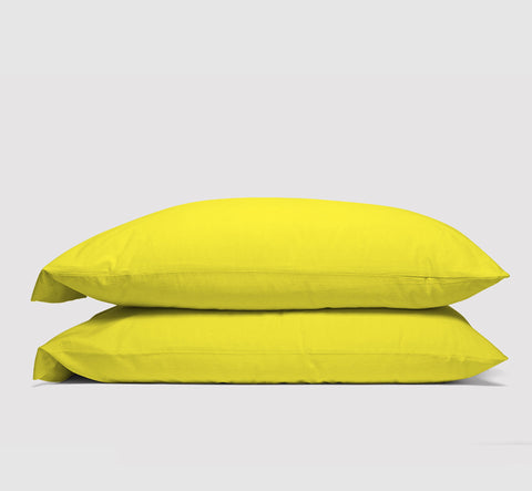pillowcases | all nighter citron | bedface