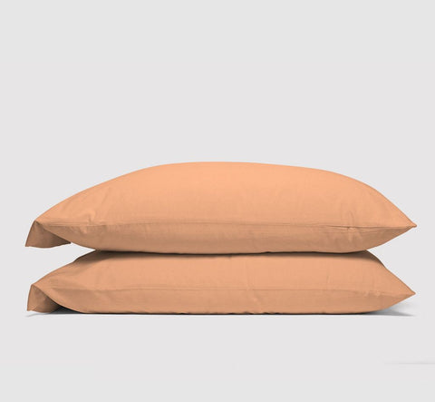 pillowcases | peach | bedface