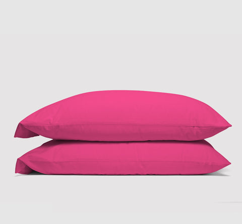 pillowcases | electric pink | bedface