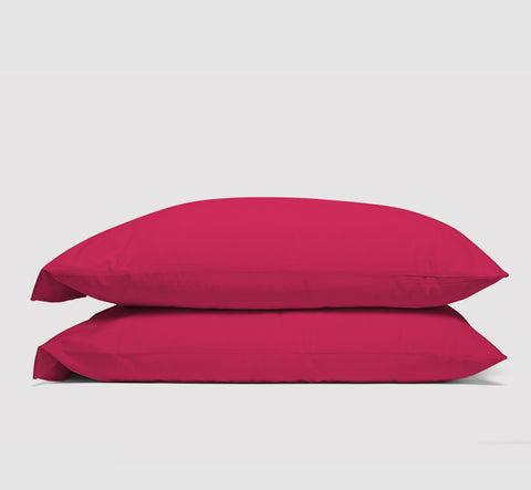 pillowcases | siesta pink | bedface