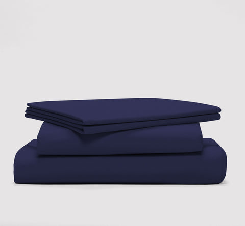 esleep set | nighttime navy | bedface