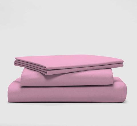 sleep set | powder pink | bedface