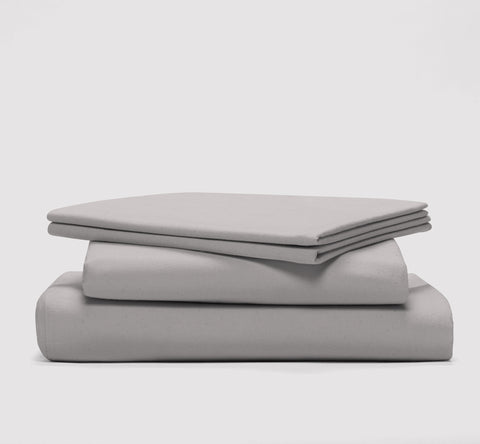 esheet set | feather grey | bedface