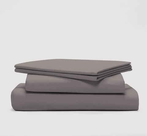 esheet set | storm grey | bedface