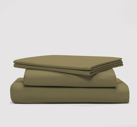 esheet set | commando olive | bedface