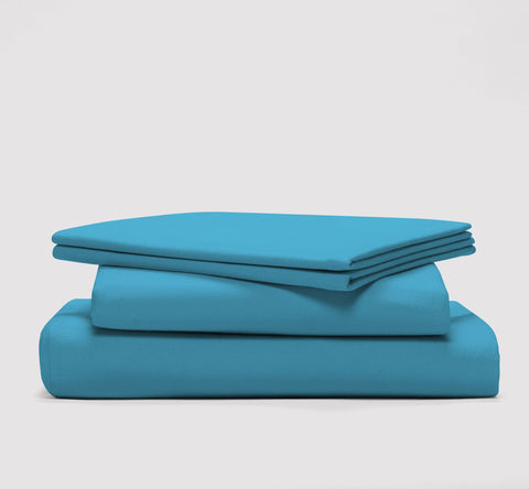 esheet set | sky blue | bedface
